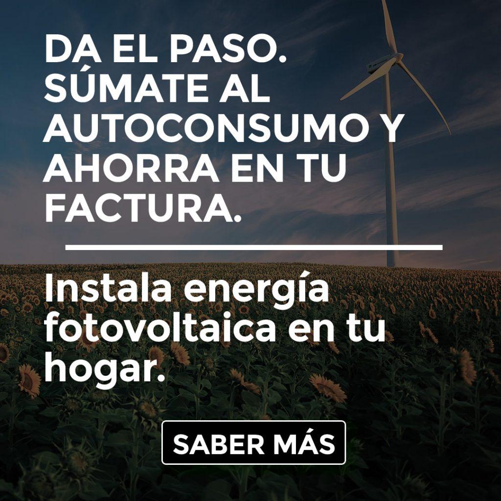 ENERGÍA FOTOVOLTAICA EN TU HOGAR